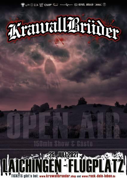 KrawallBrüder Open Air 2021 Zusatzticket (nur gültig mit RDL Ticket)