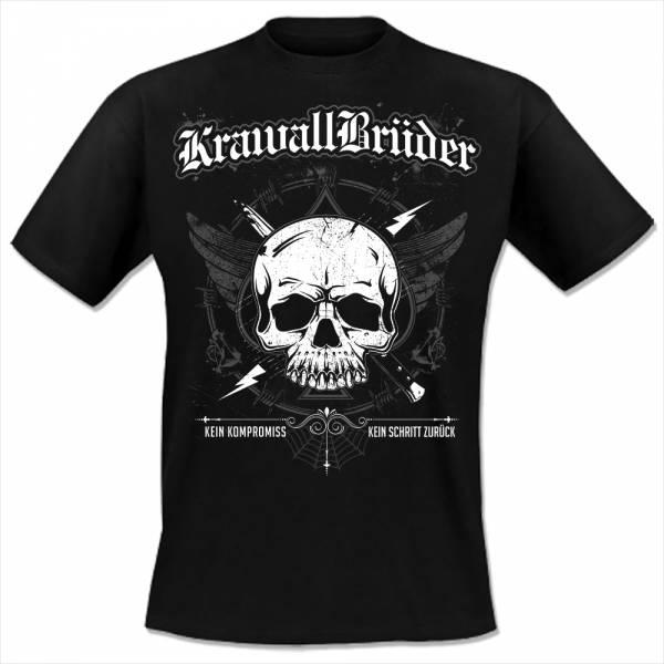 KrawallBrüder - Kein Kompromiss, T-Shirt [schwarz]