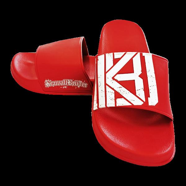 Krawallbrüder - Badelatschen RED