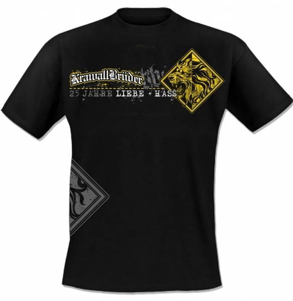 KrawallBrüder - Löwe, T-Shirt [schwarz]