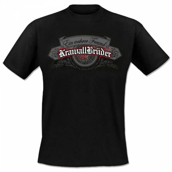 KrawallBrüder - Ein wahrer Freund, T-Shirt [schwarz]