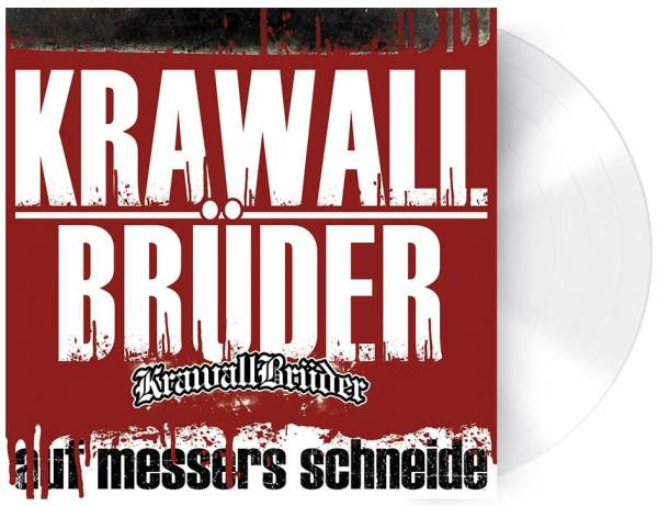 KrawallBrüder - Auf Messers Schneide - LP weiß - limitiert 600