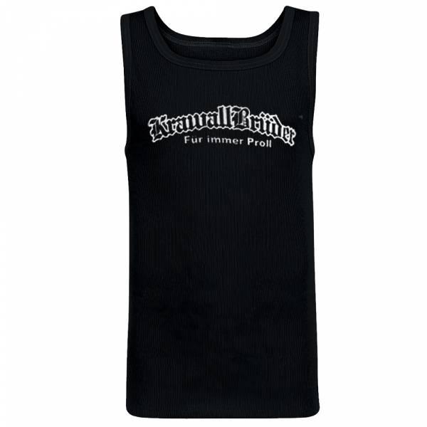 KrawallBrüder - Für immer Proll, Muskelshirt [schwarz]