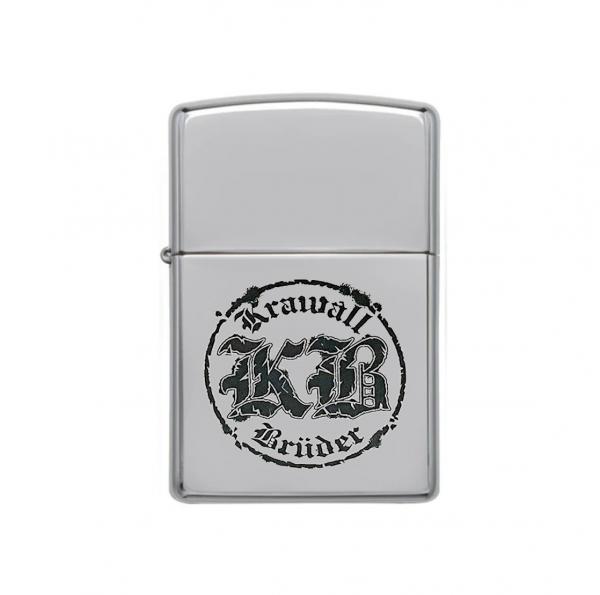 KrawallBrüder - Original Zippo Sturmfeuerzeug Logo