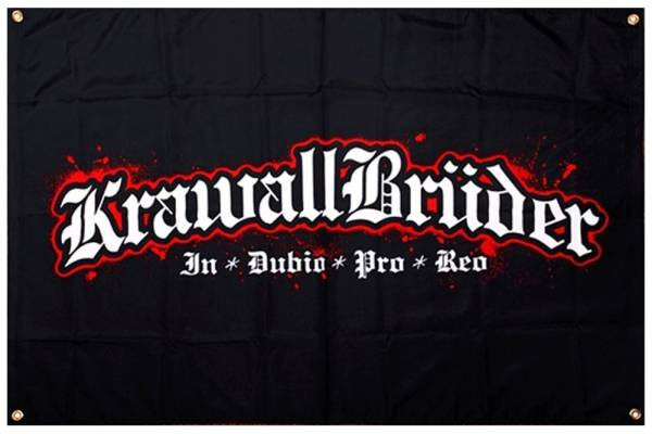 KrawallBrüder - In Dubio Pro Reo, Fahne