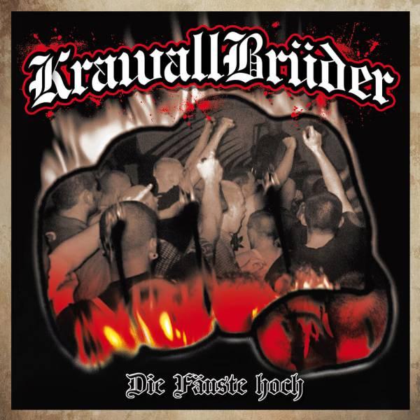 KrawallBrüder - Die Fäuste hoch, LP lim. 222 (sw/w marmoriert)