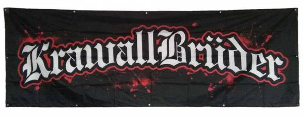 KrawallBrüder - Riesenfahne