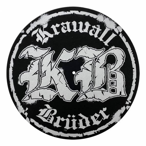 KrawallBrüder - KB Logo, Slipmat