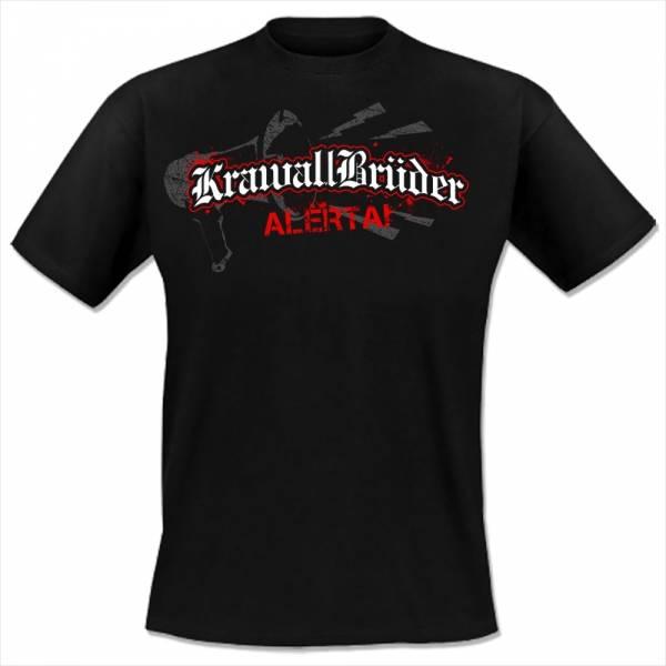 KrawallBrüder - Alerta!, T-Shirt [schwarz]