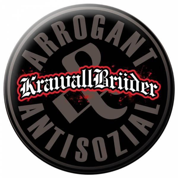 KrawallBrüder - Antisozial, Button