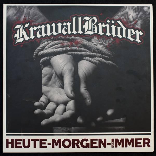 KrawallBrüder - Heute Morgen Für Immer, 3-LP- schwarz