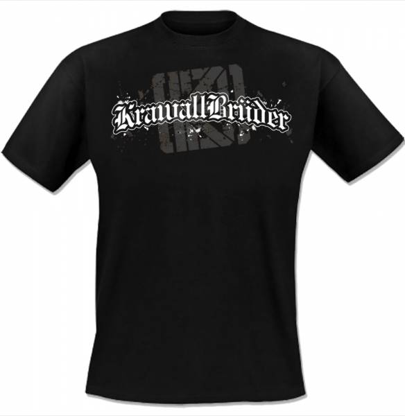 KrawallBrüder - Logo NEU, T-Shirt [schwarz]
