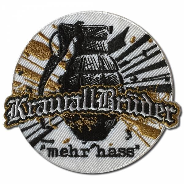 KrawallBrüder - Mehr Hass, Aufnäher