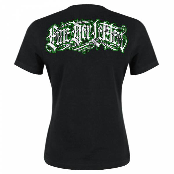 KrawallBrüder - Eine der Letzten, Girl-Shirt [grün]