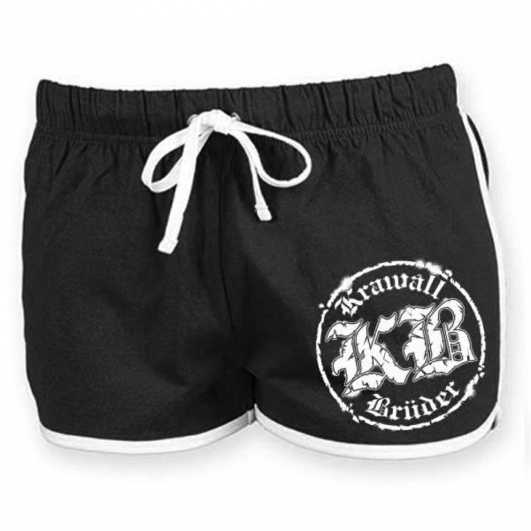 KrawallBrüder - Logo, Hotpants [schwarz]