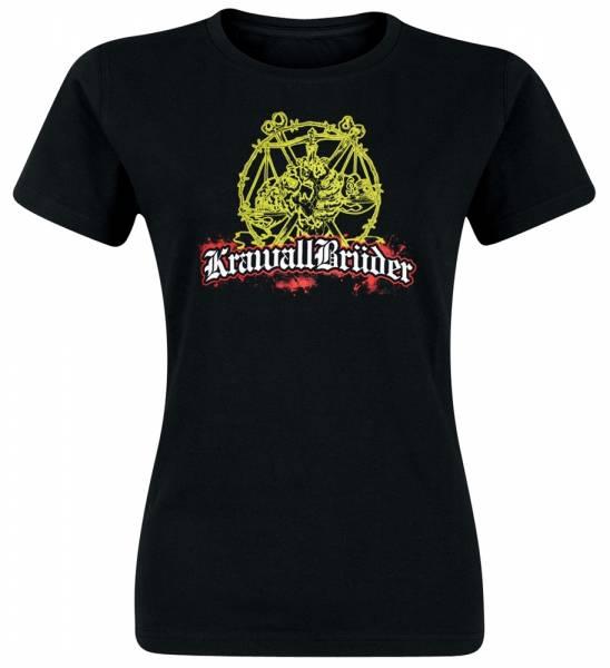 KrawallBrüder - Kind der Straße, Girls T-Shirt [schwarz]