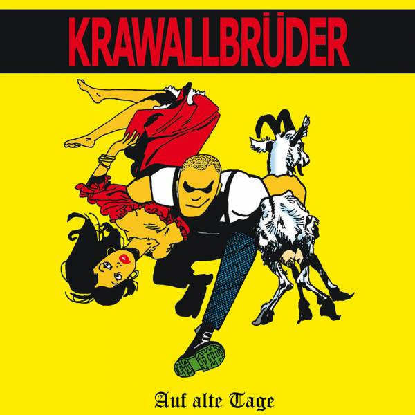 KrawallBrüder - Auf alte Tage + Demos, LP lim. 222 (rot)