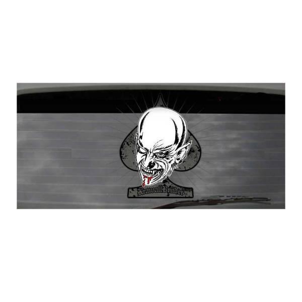 KrawallBrüder - Halb Mensch Halb Tier, Heckscheibenaufkleber