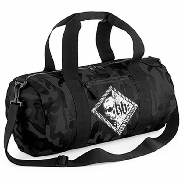 KrawallBrüder - KB Raute, Barrel Bag [Black Camo]
