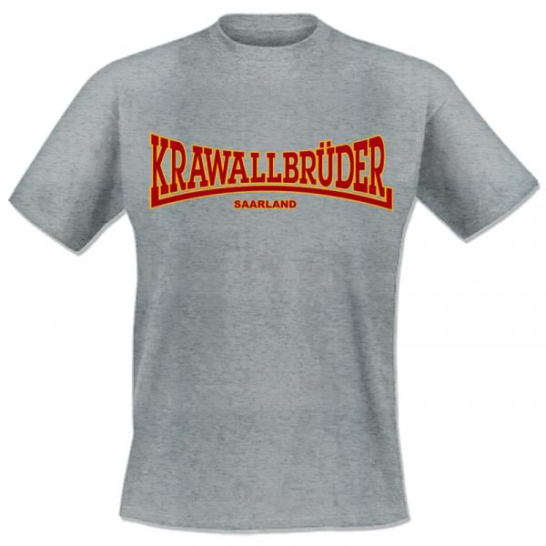KrawallBrüder - Saarland , T-Shirt [grau]
