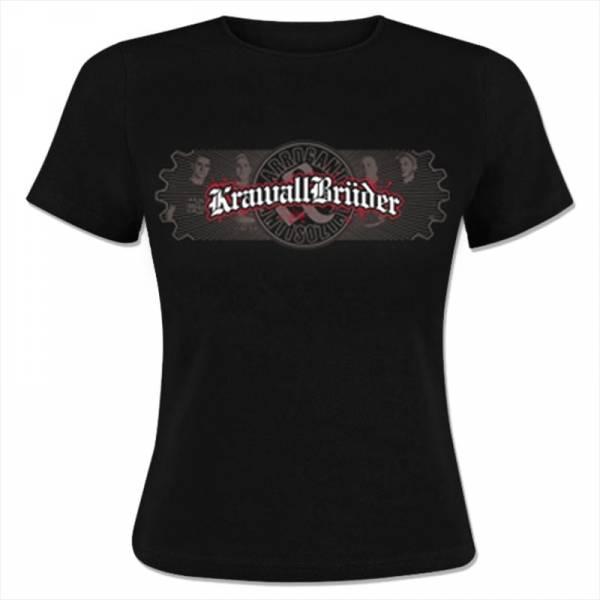 KrawallBrüder - Antisozial, Girl-Shirt [schwarz]