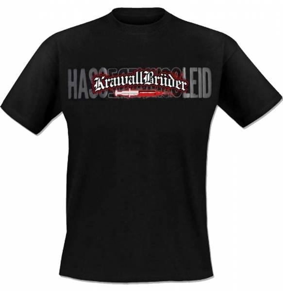 KrawallBrüder - Hass Schmerz Leid, T-Shirt [schwarz]