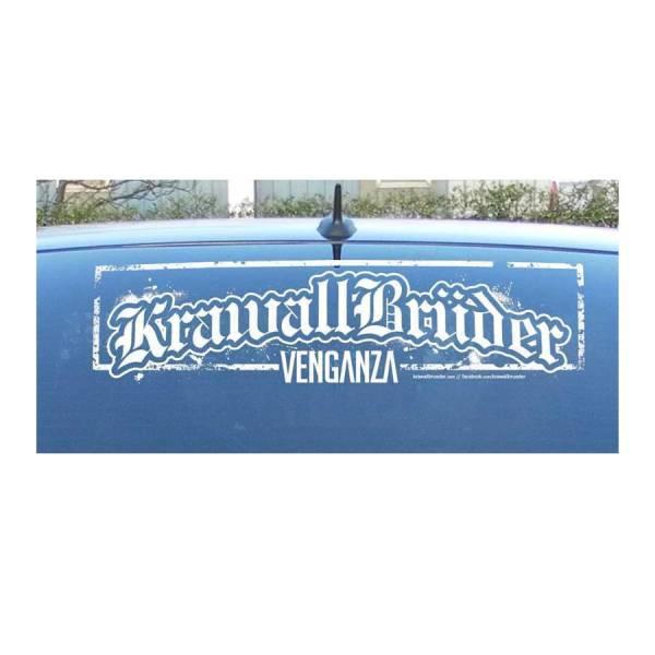 KrawallBrüder - Venganza, Heckscheibenaufkleber aussen