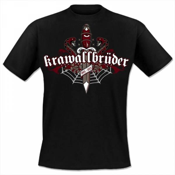 KrawallBrüder - Oldschool, T-Shirt [schwarz]