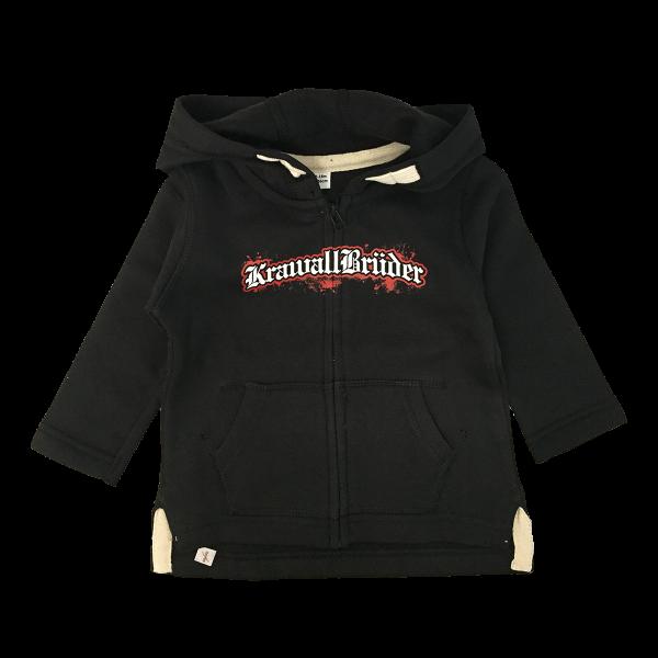 KrawallBrüder - Logo, Baby Kapuzenjacke [schwarz]