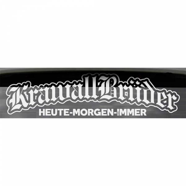 KrawallBrüder - Heute Morgen Für Immer, Heckscheibenaufkleber