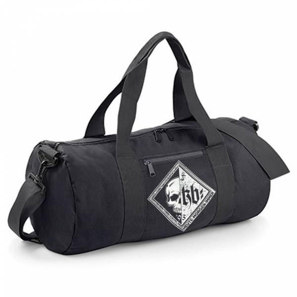 KrawallBrüder - KB Raute, Barrel Bag [schwarz]