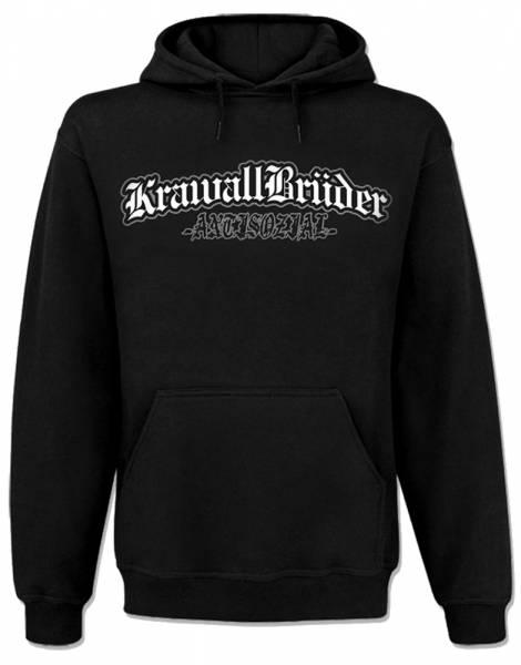 KrawallBrüder - Antisozial, Kapu [schwarz]