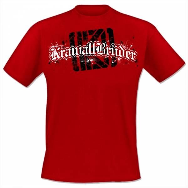 KrawallBrüder - Logo NEU, T-Shirt [rot]