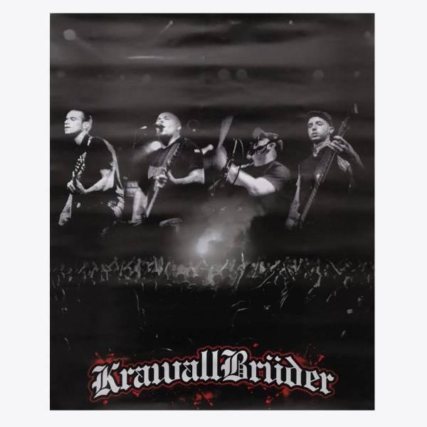 KrawallBrüder - Band live, Poster