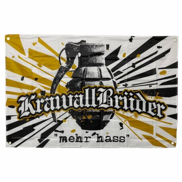 KrawallBrüder - Mehr Hass, Fahne