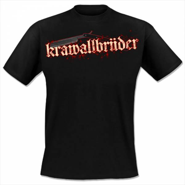 KrawallBrüder - Purer Hass, T-Shirt [schwarz]
