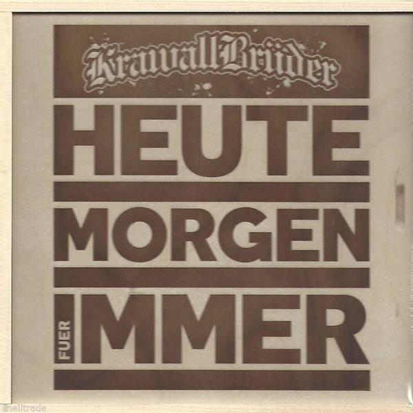 KrawallBrüder - Heute Morgen Für Immer, CD-Box