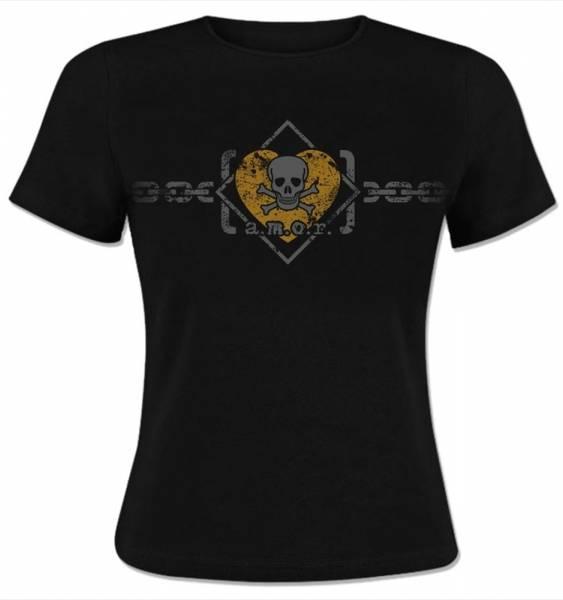 KrawallBrüder - Amor, Girl T-Shirt [schwarz]