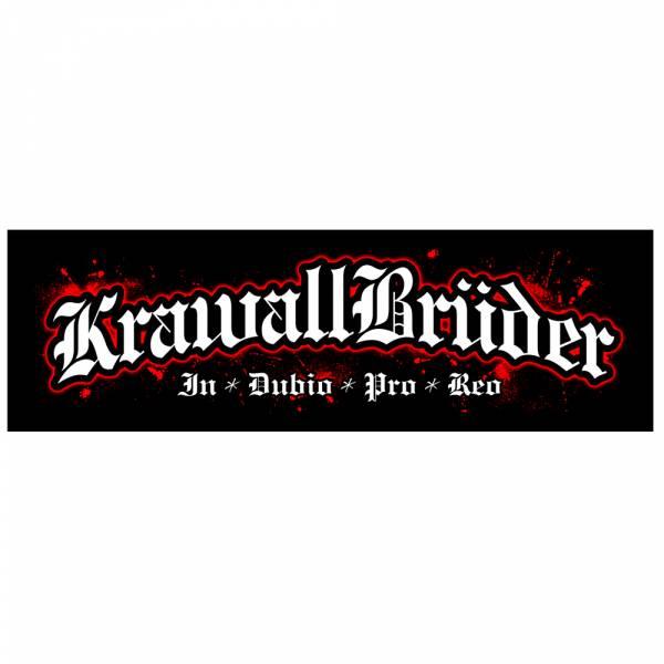 KrawallBrüder - In Dubio Pro Reo Sticker