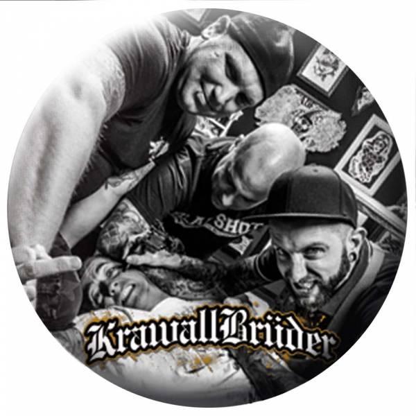 KrawallBrüder - Mehr Hass Band, Button