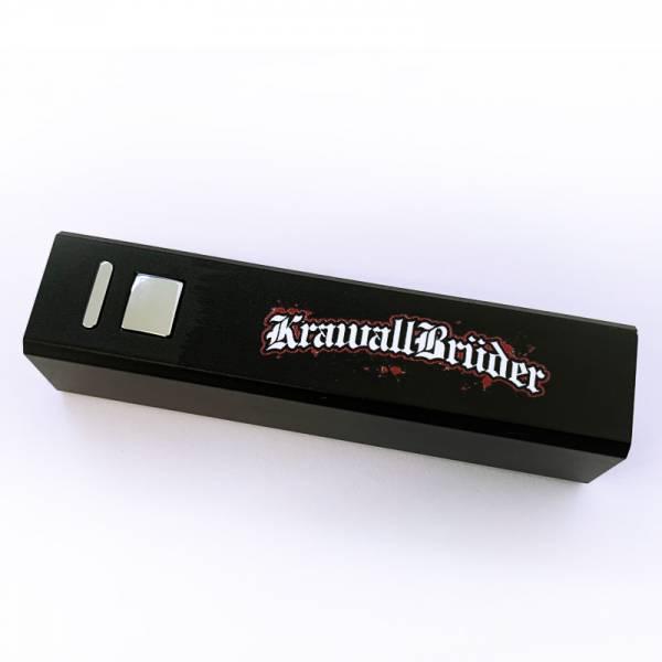 KrawallBrüder - Logo, Powerbank