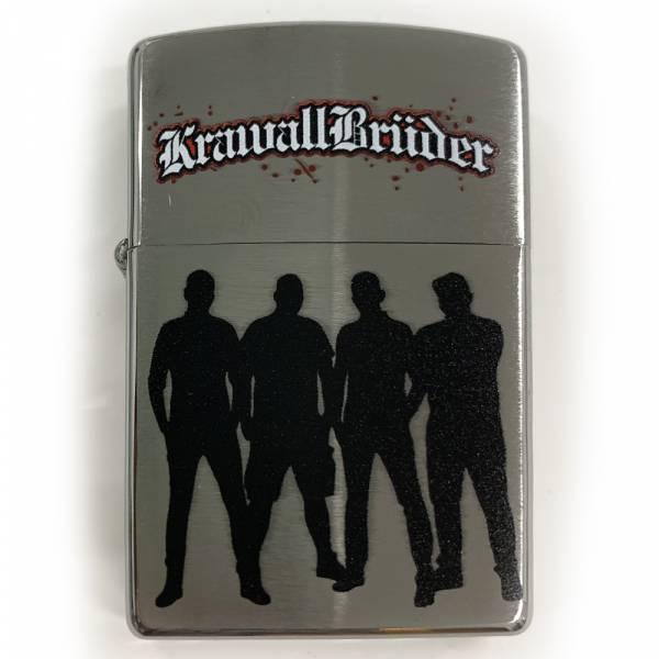 KrawallBrüder - Original Zippo Sturmfeuerzeug Schatten