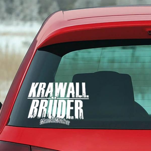 KrawallBrüder - AMS Heckscheibenaufkleber klein