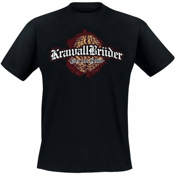 KrawallBrüder - Das 11. Gebot, T-Shirt [schwarz]
