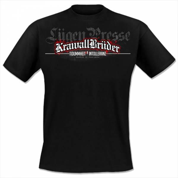 KrawallBrüder - Lügenpresse, T-Shirt [schwarz]
