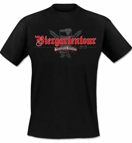 KrawallBrüder - Biergartentour 2019, T-Shirt [schwarz]