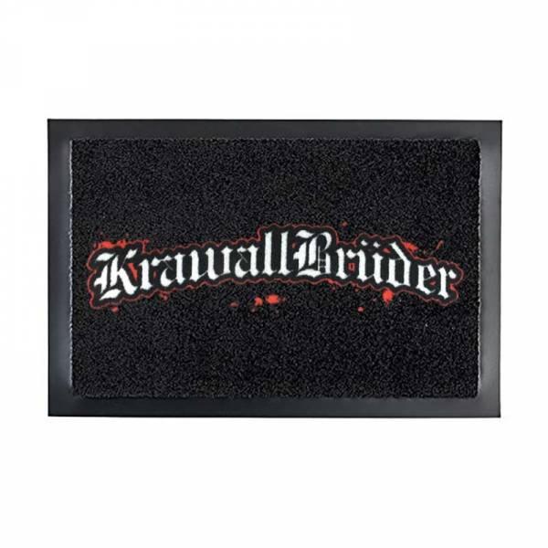 KrawallBrüder - Logo, Fussmatte