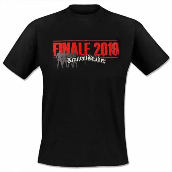 KrawallBrüder - Finale 2019, T-Shirt [schwarz]