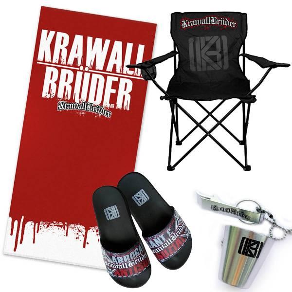 KrawallBrüder - Logo, Strandset