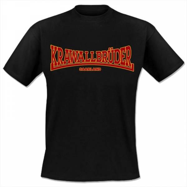 KrawallBrüder - Saarland, T-Shirt [schwarz]